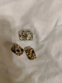 TWO PAIR VINTAGE EARINGS Albuquerque, 87102