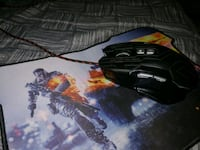 PRO GAMING MOUSE FIRSBY GX7 + MOUSE PAD