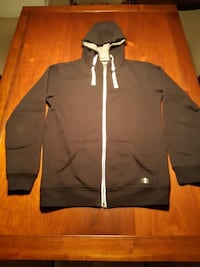 Men's L Black Zip-up Hoodie by MINIMUM VANCOUVER