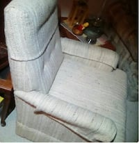 FREE Good quality chair and footstool Maple Ridge