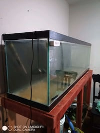6 foot fish tank and stand