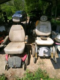 Two power chairs free.