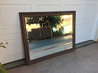 """Beautiful mirror in great condition! 36.5"""" x 45"""". $50 firm San Marcos, 92078"""