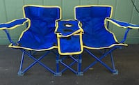 blue and yellow camping chair 2265 mi