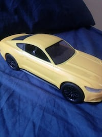 yellow coupe die cast