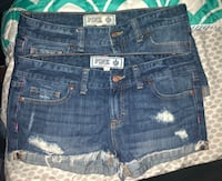 blue denim cuff short shorts Tarpon Springs, 34689