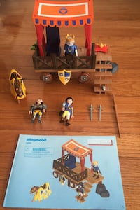 Playmobil Super 4 Royal Tribune with Alex Figure  Herndon, 20171