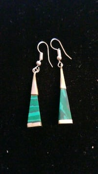 Sterling silver earrings with Turquoise  Hyattsville, 20784