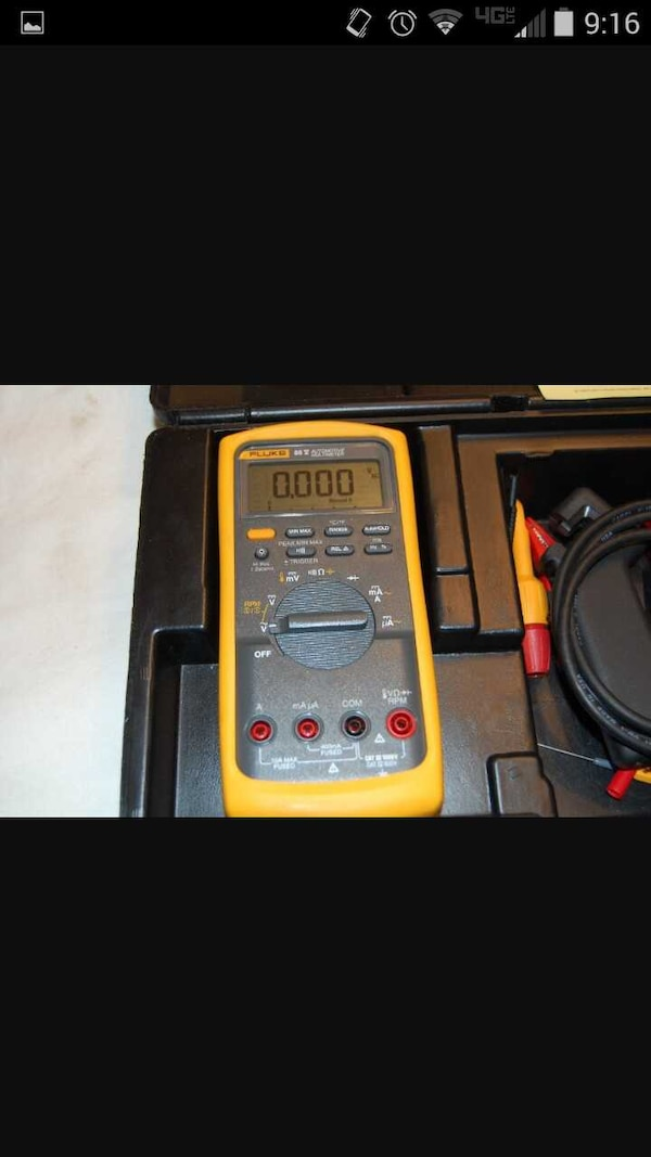 Fluke 88v Multimeter Kit