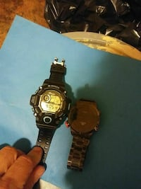 round black Casio G-Shock digital watch New Bedford, 02745