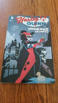 """Book:  Harley Quinn """"Vengeance Unlimited""""(softcover book) Rising Sun, 21911"""