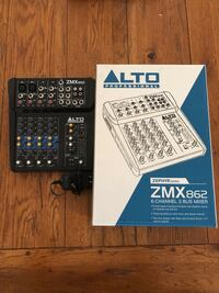 (IRVING, TX) Alto ZMX 862 6-Channel 2-Bus MIXER Irving, 75063