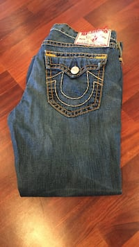 blue True Religion denim bottoms Vancouver, V5V 4P2