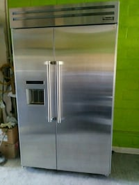 stainless steel side-by-side refrigerator with dis Concord, 94520