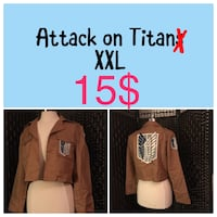 Attack on Titans jacket collage