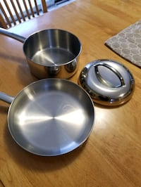 Cooper & stainless steel pot and pan Brampton, L6R 1L5