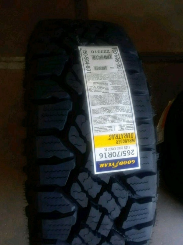 Tires 265/70/16