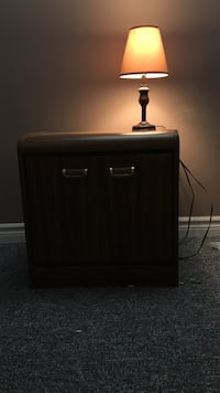 Moving sale. Side table and lamp North Bay, P1B 7G8