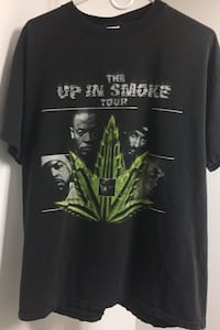 VINTAGE 2001 UP IN SMOKE T-SHIRT