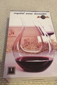 Wine Decanter, brand new, never used  Springfield, 22153