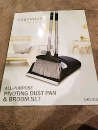 Broom and dust pan set**new