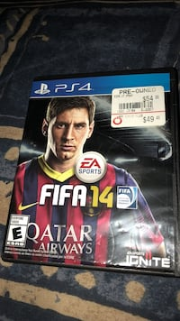 Fifa 14 ps4 game