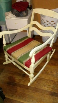 white and brown wooden rocking chair Pawtucket, 02861