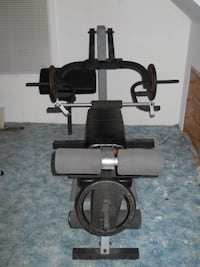 Weight Bench & Assy  - Weights sold separately -  See pics for weights