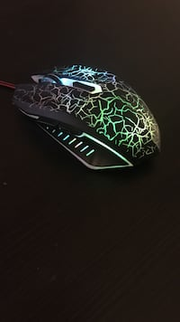 Gaming Mouse- LED 7 Colours with programmable side buttons and dpi Wellesley, N0B