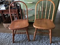 Chairs $25 for 2 or $45 for all 4 Dover, 19904