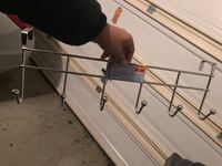 Black and gray clothes drying rack Dumfries, 22025