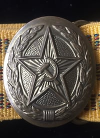 Soviet Union Military Belt Buckle