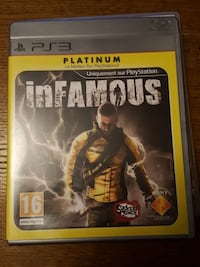 Infamous PS3 game case Tourcoing, 59200