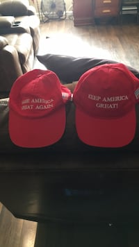 MAGA or KAG hats. Got lots of both all the time. San Antonio, 78217