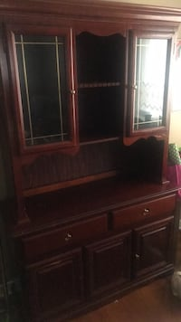 brown wooden cabinet with shelf Jackson, 39209