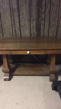 Brown library table with drawer Saint Louisville, 43071