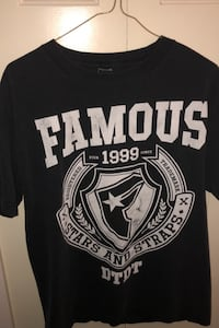 Famous black t shirt  Burnaby, V5G