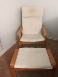 IKEA chair & foot stool Suitland, 20746