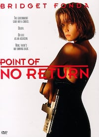 """POINT OF NO RETURN"" Dvd - Bridget Fonda - Dir. John Badham Bethesda, MD, USA"