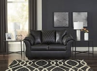 NEW ASHLEY black sofa and loveseat Betrillo model College Park