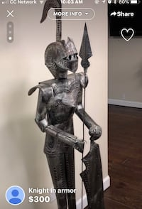 Knight in armor 1191 mi