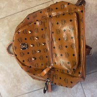 Brand new Cognac MCM Backpack  Victorville, 92392