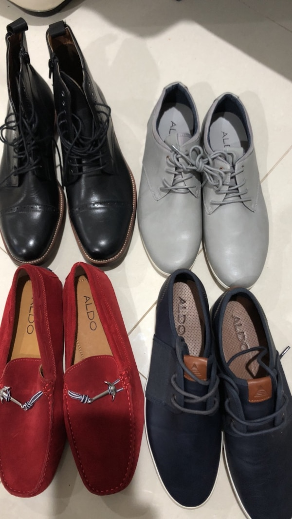 ALDO shoes for men size 8 new without box 35 dllr each or 2x60