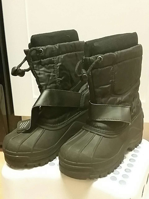 75659fb0233 Used black leather drawstring winter boots for sale in Concord - letgo