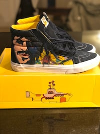 """Vans limited edition """"The Beatles"""" Yellow Submarine Jessup, 20794"""