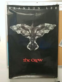 The Crow coming soon poster Frederick, 21701