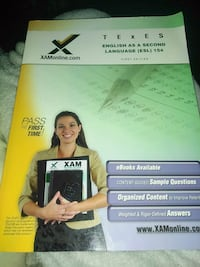 ESL study guide, 1st edition Pearland, 77584