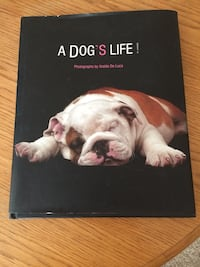 Dog photo coffee table book Acton
