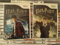 Nintendo Wii Harry Potter games Vaughan, L4L