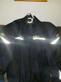 Men's motorcycle jacket. Waterproof